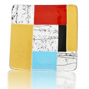 Sushi Plate Glass Fusion in Contemporary Design by Fire Glass Studio