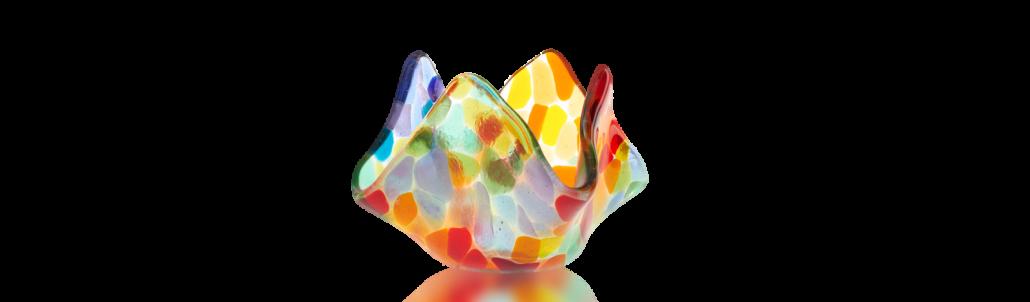 Fire Glass Studio San Fernando Glass Art Fusion Class Red Glass Bowl