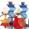 Fire Glass Studio Candle Holders