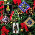 Fire Glass Studio – Touch-of-Holiday Glass- Ornaments